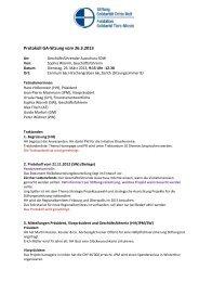 Protokoll GA-Sitzung vom 26.3.2013