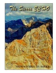 Volume 56, Number 1, Jan - Mar, 2012 - Sierra Club - Angeles ...