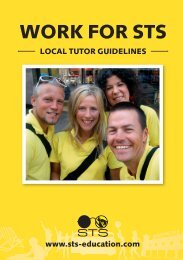Download the Local Tutor Guidelines - STS