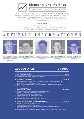 2-2007 PDF - EISMANN Rechtsanwälte