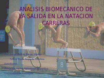 analisis biomecanico de la salida en la natacion carreras