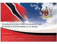 Introduction of the CLICO Investment Fund for Holders of ...