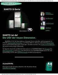 XANTO S-Serie