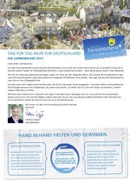 Jahresbericht 2012 - Deutsche Fernsehlotterie