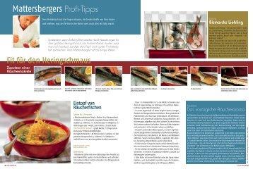 Mattersbergers Profi-Tipps