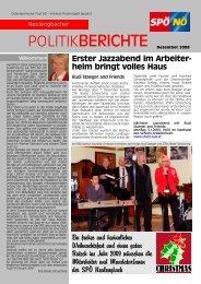 Dezember 2008 - beate raabe-schasching - SPÖ
