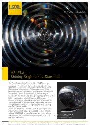 HELENA — Shining Bright Like a Diamond - Silica Lighting
