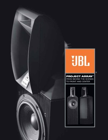 Project Array Brochure - JBL Synthesis