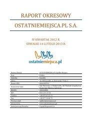 raport okresowy - IVQ 2012 .pdf
