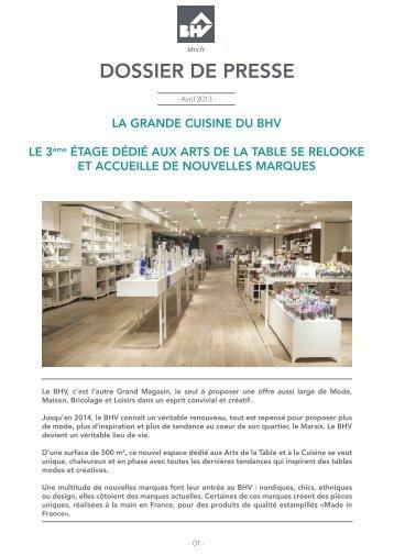DOSSIER DE PRESSE - Groupe Galeries Lafayette