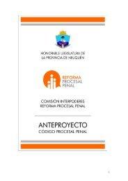 proyecto código procesal penal