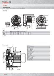 Modifizierte Seitenkanalverdichter Type VB 140 ... - speck-pumps.ch