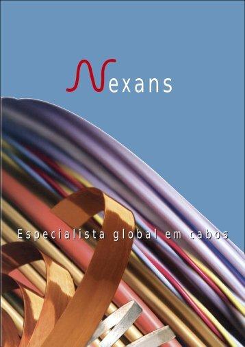 Especialista global em cabos - Nexans