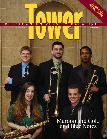 Maroon and Gold and Blue Notes Maroon and Gold and Blue Notes