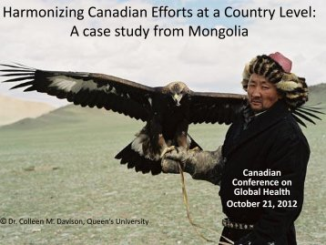 a case study from Mongolia