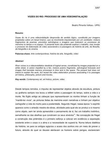 Beatriz Pimenta Velloso - Anpap