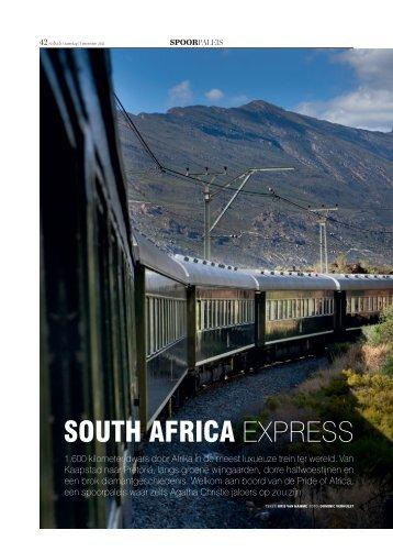 south africa - Rovos Rail
