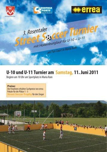 3 Rosentaler Street Soccer Turnier - Carinthia Sports