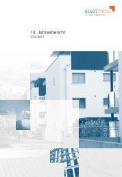 Jahresbericht 2012/2013 - ASSETIMMO Immobilien Anlagestiftung