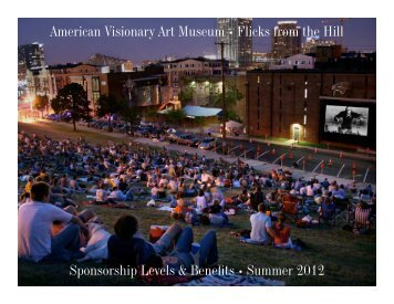 American Visionary Art Museum • Flicks from the Hill Sponsorship ...