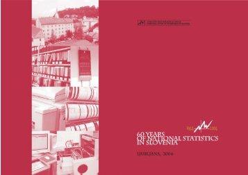 60 Years of National Statistics in Slovenia - Statistični urad ...