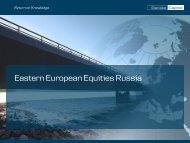 Russia - Danske Invest