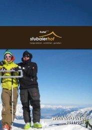 winterlaune! - Hotel Stubaierhof