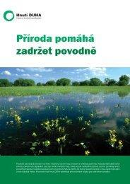 Příroda pomáhá zadržet povodně - Hnutí DUHA
