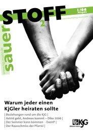 Warum jeder einen KjGler heiraten sollte - KjG Mainz