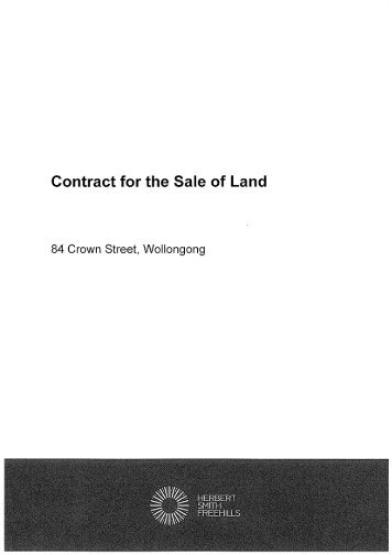 Remedies For Breach Of Contract For Sale Of Land - Gordon & Jackson