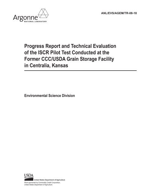 7Progress Report and Technical Evaluation of the ISCR Pilot