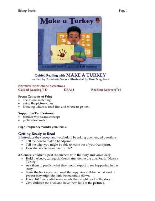 Lesson Plan Lee Low Books