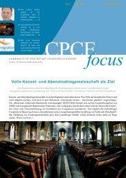 Volle Kanzel- und Abendmahlsgemeinschaft als Ziel - Community of ...