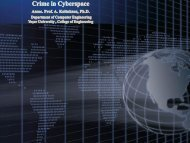 Crime in Cyberspace - School of Design, Engineering, and Computing
