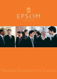 EpsomProspectus2006 - School of Educators