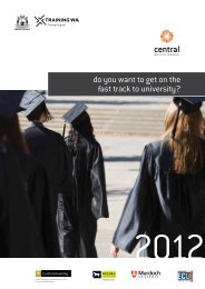 do you want to get on the fast track to university?