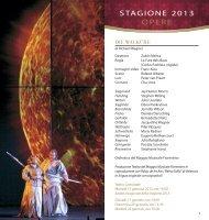 Calendario Maggio Musicale Fiorentino 2013 - Evento Italiano