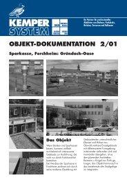OBJEKT-DOKUMENTATION 2/01 Sparkasse, Forchheim