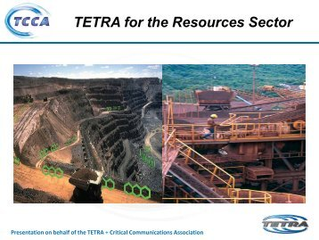 TETRA for the Resources Sector