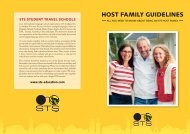 HOST FAMILY GUIDELINES - STS