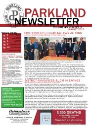 January 2013 - Parkland School District