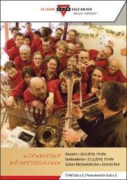 Nähere Informationen zu den Konzert, dem Gottesdienst und der ...