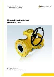 Kugelhahn S | Einbau- und Betriebsanleitung | DE | PDF