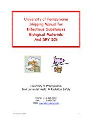 Infectious Substances Biological Materials And DRY ICE