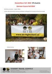 Deutschkurs Fall 2010 STS-Austria German Course Fall 2010