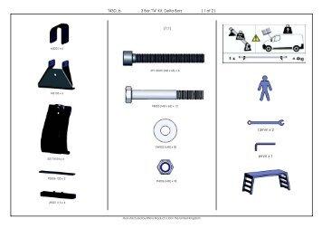 """3 Bar """"T4"""" Kit, Delta Bars T43DBb ( 1 of 2 ) - AUBU.DE - Shop Katalog"""