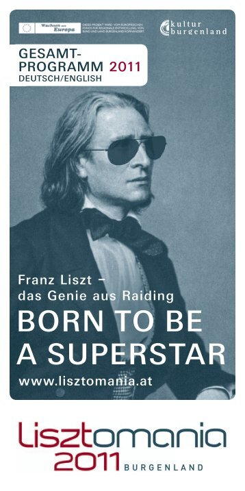BORN TO BE A SUPERSTAR - Lisztomania 2011