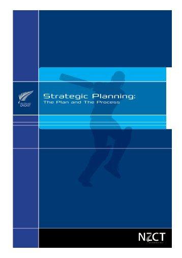 Strategic Planning: - New Zealand Cricket