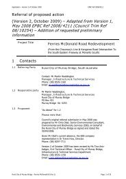 Referral of proposed action - Rural City of Murray Bridge - SA.Gov.au