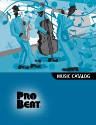 2010 Probeat Music Catalog - TEI Electronics Inc
